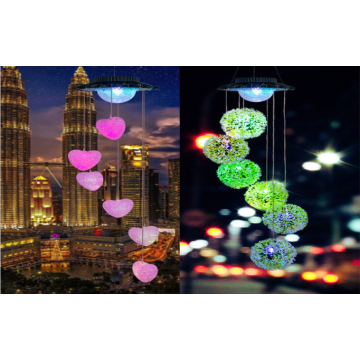 LED Solar Wind Chime Lights