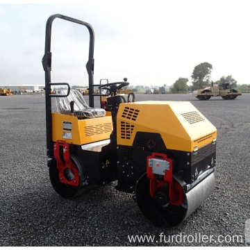 Road Roller Machine Vibratory Ride On Hydraulic Asphalt Road Roller Compactor Mini roller manufacturer   FYL-880