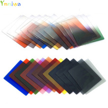 24 square Color Filters full color filters+Graduated color filers for Cokin P + +tracking number