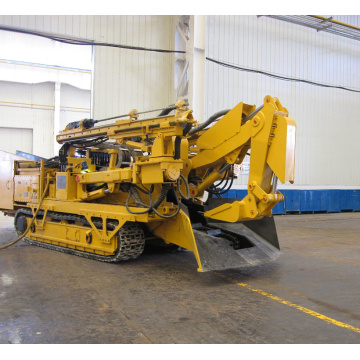 Weight Heavy Excavating Loader with Auger Drilling