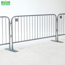 Road Safety Traffic Galvanized Temporary Crowd Barrier Fence