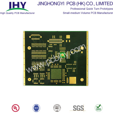 10 Layer Multilayer Immersion Gold PCB Quick Delivery