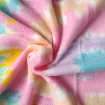 Good Printed Raised Brushed Polar Fleece Fabric