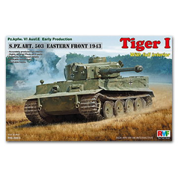 Rye field Model 1/35 scale RM5003 S.PZ.ABT.503 Eastern Front 1943 Pz.kpfw.VI Ausf.E Early production with full interior