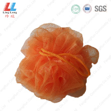 Absorbent mesh single color sponge ball
