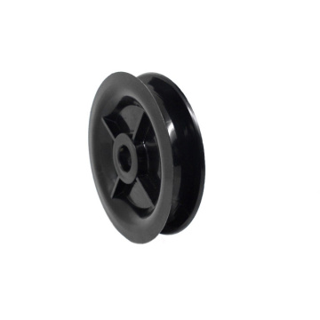 White Nylon Wheels Roller Plastic ABS Wheel Roller