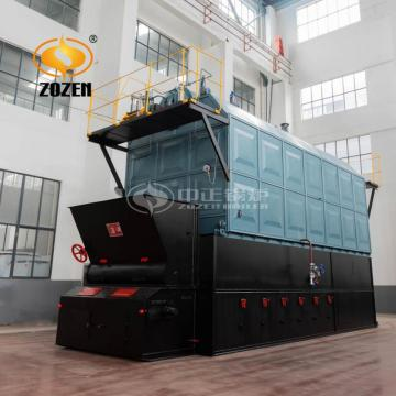 10ton Moving Grate Steam Boiler Biomass Rice Husk