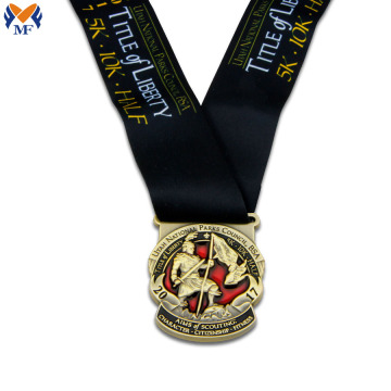 Custom metal commendation gold medal high quality