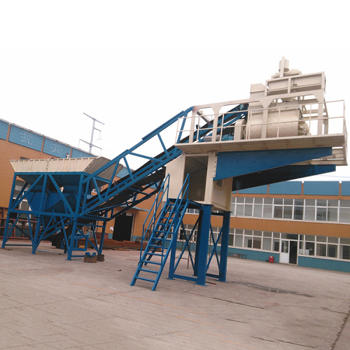 2021 moveable ready mixed mobile concrete batching plant