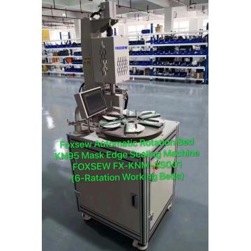 Automatic Rotation KN95 Mask Edge Welding Sealing Machine