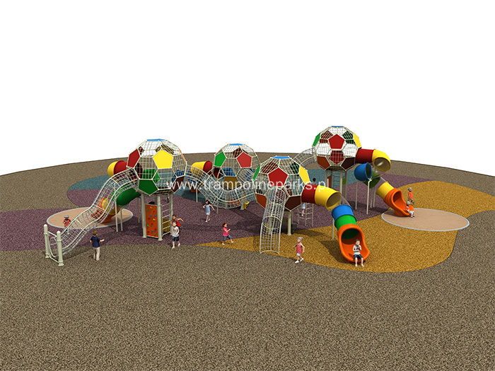 Climbing & Slides Combination Kids Playground