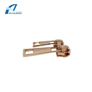 Zip Puller Hardware Part Square Hole Jacket Zipper