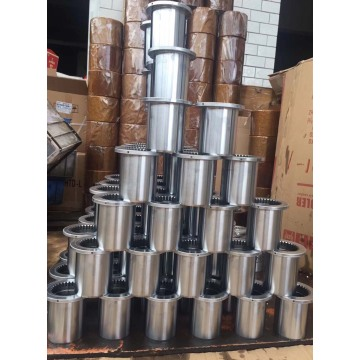 Machining Stainless Steel Flange Bushing Bushes
