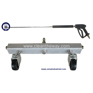 3 Spray Nozzle Water Broom with Gun