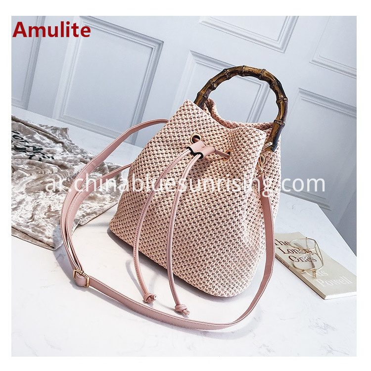 Fashion straw bag