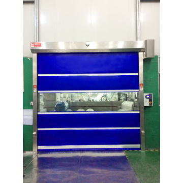 Industrial PVC High Speed Roller Shutter Door