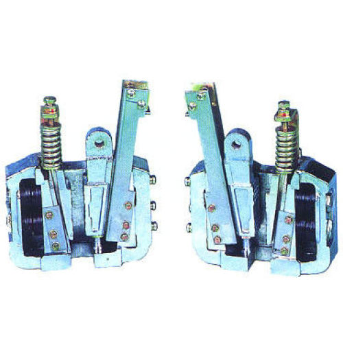 Elevator Safety Gear , PB167 10mm 16mm 2.0m/s Rated Speed