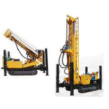 Crawler Mounted Hydraulic Water Well Drilling Rig