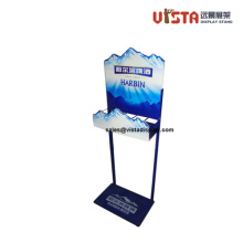 Beverage Beer Promotional Pop Metal Display Stand