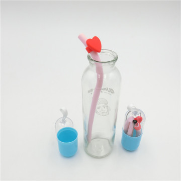 nuby's silicone straw bottles