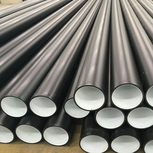 Anti-abrasive HDPE composite pipe