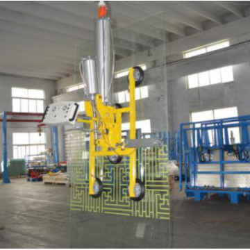 Insulating glass cantilever crane