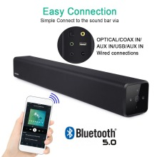 100W Touch Screen+Remote Control Soundbar Home Theater Sound System TV Bluetooth Speaker Support Optical AUX Sound Bar For TV