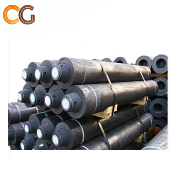 nipples graphite electrodes for steel factory using