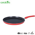 Pressed Non Stick Red Induction Cookware Set