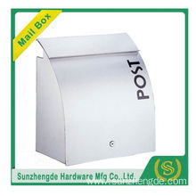 SMB-012SS Professional Manufacturer Of Mailmail Post Box Stainless Steel Security Mailbox