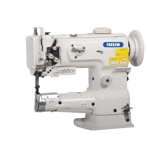 Single Needle Cylinder Bed Unison Feed Lockstitch Sewing Machine with Vertical-Axis Hook