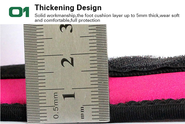 thickening design ankle support