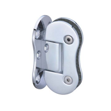 Wall Mounted Offset Stainless Steel Glass Hinges