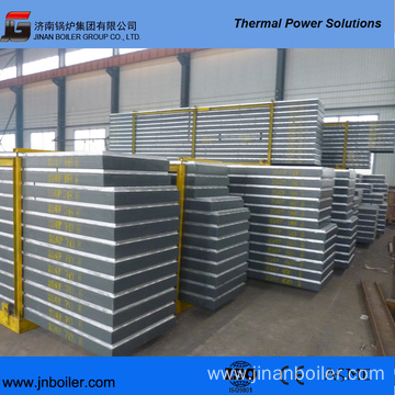 Steel Frame and Platform for Boilers
