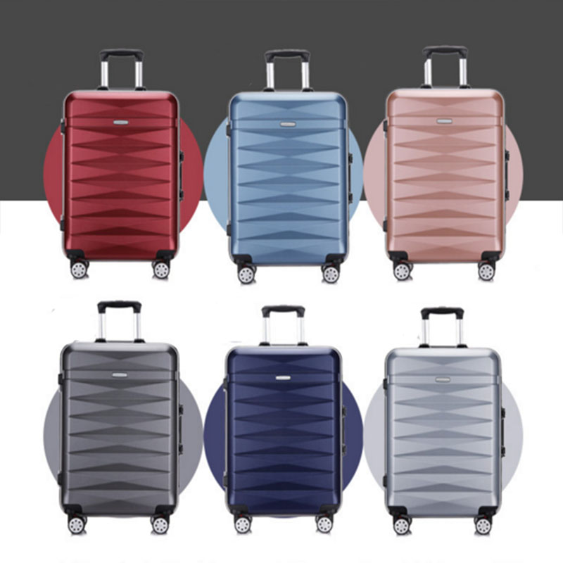 Colorful luggage