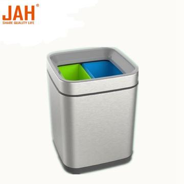 JAH 430 Stainless Steel Recycling Garbage Bin Dustbin