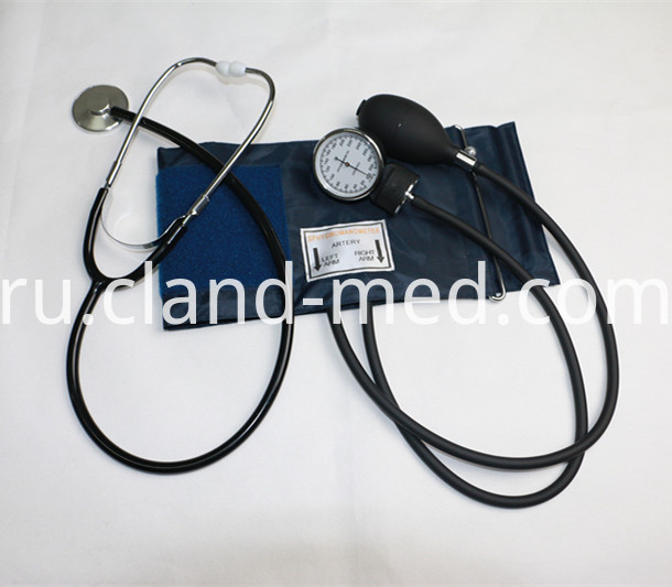 Cl As0015 Sphygmomanometer With Single Head Stethoscope 1