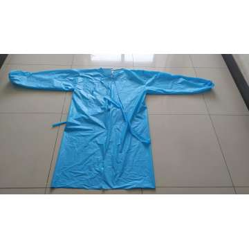 Disposable CPE isolation gown