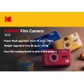 KODAK Vintage Retro M38 Ungrade M35 35mm Reusable Film Camera Yellow / Classic Blue / Flame Scarlet