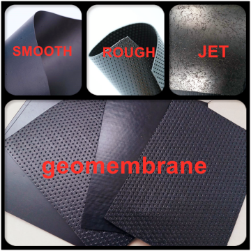 2mm HDPE Rough Geomembrane for Landing Capping