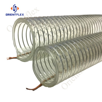 heavy duty fiber steel wire reinforced hoses