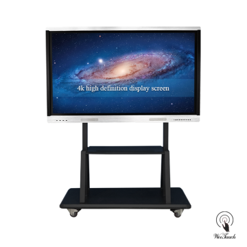 70 Mga Inches Smart LED Panel Sa Mobile Stand