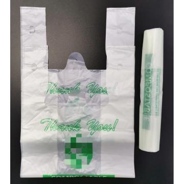 ASTM D6400 Verified Custom Printed  Bioplastic Bags