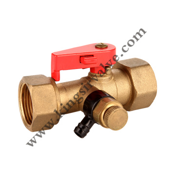 Brass blowdown valve
