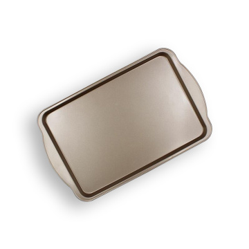 "15"" Oblong Shallow Baking Pan With Wide Side"