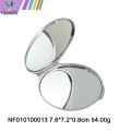 Mini crystal drill folding makeup mirror