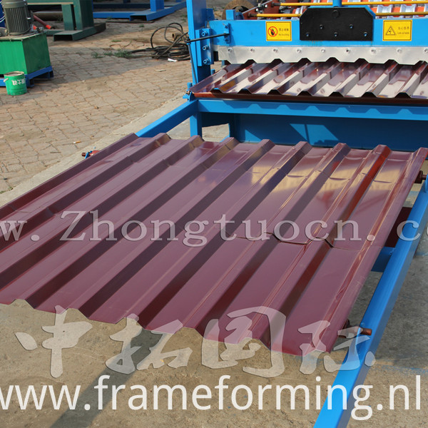 Roof panel roll forming machine (8)