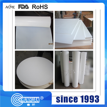 100% Virgin PTFE Molded And Skived Sheet