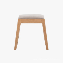 Solid Wood Dressing Stool Wooden Furniture