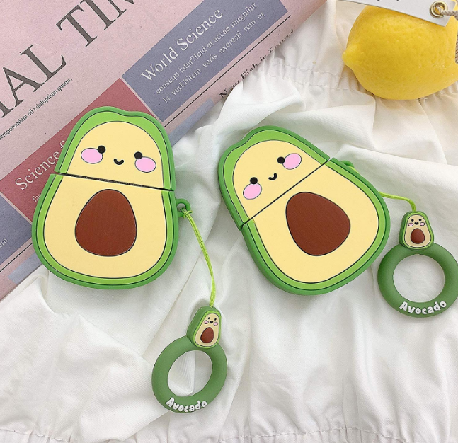 Avocado Silicone Airpod Cases
